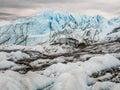 Alaska Matanuska Glacier Royalty Free Stock Photo