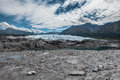Matanuska Glacier in summer Stock Photography