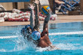 Match de waterpolo Image libre de droits