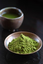 Matcha tea Royalty Free Stock Photo