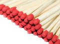 Matches isolated on white background Royalty Free Stock Photography