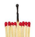 Matches - leadership or inspiration concept Stock Photo