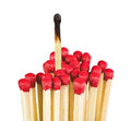 Matches - leadership or inspiration concept Royalty Free Stock Photo