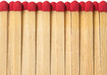 Matches on a white background Royalty Free Stock Images