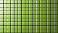Mate green small wall tiles background Royalty Free Stock Photo