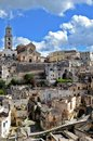 Matera in italy southern has gained international fame for its ancient town the sassi di meaning stones of the sassi Stock Images