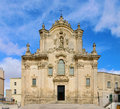 Matera Kirche San Francesco d Assisi Photo stock