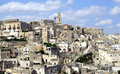 Matera's city Stock Photography