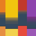 Material Design Banner Background. Vector Eps10