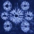 Material dyed batik shibori background Stock Photography