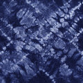 Material dyed batik shibori indigo Stock Photos