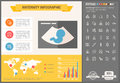 Maternity flat design Infographic Template