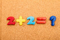 Math Addition Royalty Free Stock Photo