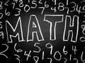 Math background Royalty Free Stock Photos
