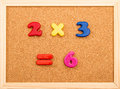 Math Multiplication Royalty Free Stock Photo