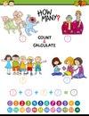 Math task for preschool kids