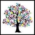 Math Tree. Digits Illustration...