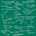 Mathematic formula doodle Royalty Free Stock Image