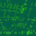 Mathematic wallpaper Stock Photo