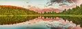 Matheson Lake Royalty Free Stock Photo