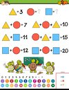 Maths calculation educational game for kids