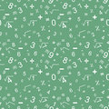 Maths seamless pattern Royalty Free Stock Photo