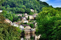 Matlock Bath in Derbyshire Royalty Free Stock Photo