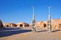 Matmata town in Tunisia Royalty Free Stock Photo