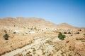 Matmata village in Tunisia Royalty Free Stock Photo