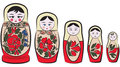 Matreshka Royalty Free Stock Photography