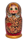 Matreshka russian nested dolls also known as matryoshk Stock Images