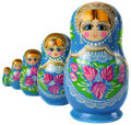 Matrioska Russian Doll Stock Images
