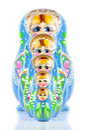 Matrioska Russian Doll Royalty Free Stock Photo