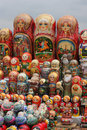 Matryochka dolls Stock Photography