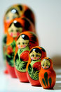 Matryoshka Foto de Stock Royalty Free