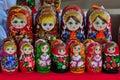 Matryoshka doll,Russian doll, Russian nesting doll,stacking dolls, wooden dolls