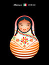 Matryoshka Mexico Stock Images