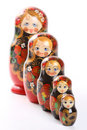 Matryoshka - Russian Nested Dolls Stock Photography