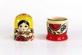 Matryoshka Russian Nesting Dolls Royalty Free Stock Photo