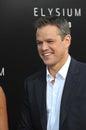 Matt Damon Royalty Free Stock Photo