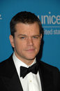 Matt damon at the unicef ball honoring jerry weintraub beverly wilshire hotel beverly hills ca Royalty Free Stock Images