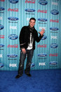 Matt giraud arriving at the american idol top party at area in los angeles ca on march Stock Image