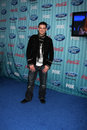 Matt giraud arriving at the american idol top party at area in los angeles ca on march Royalty Free Stock Image