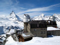 Matterhorn &Gornergrat Station Stock Photography