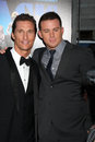 Matthew McConaughey, Channing Tatum arrives at the  Royalty Free Stock Image