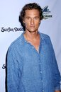 Matthew mcconaughey at the los angeles premiere of surfer dude malibu cinemas malibu ca Royalty Free Stock Photography