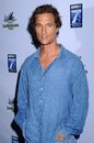 Matthew mcconaughey at the los angeles premiere of surfer dude malibu cinemas malibu ca Royalty Free Stock Images