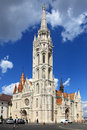 Matthias Church at Buda Castle, Budapest Royalty Free Stock Photos