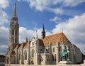 Matthias church roman catholic in budapest Stock Photography