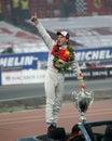 Mattias Ekstrom (Sweden) is the winner of ROC 2009 Royalty Free Stock Photo